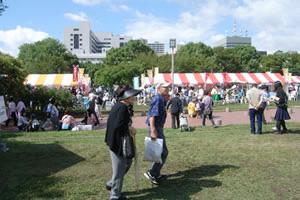 大阪あきない祭り風景