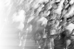 大阪マラソン風景